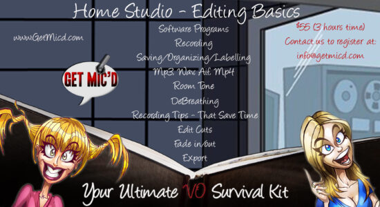 Get Mic'd - Home Studio Editing Basics